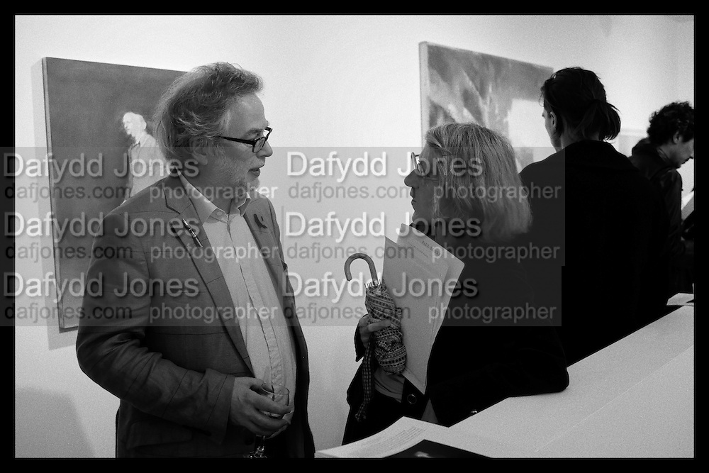 ANDREW LAMBIRTH; CELIA LYTTLETON, Behind the Silence. private view  an exhibition of work by Paul Benney and Simon Edmondson. Serena Morton's Gallery, Ladbroke Grove, W10.  4 November 2015.