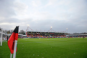 Checkatrade.com stadium during the EFL Sky Bet League 2 match between Crawley Town and Grimsby Town FC at the Checkatrade.com Stadium, Crawley, England on 26 November 2016. Photo by Jarrod Moore.