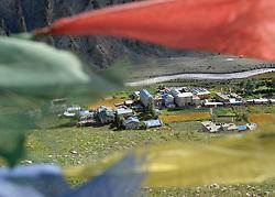 THEMENBILD - Trekkingtour in Nepal um die Annapurna Gebirgskette im Himalaya Gebirge. Das Bild wurde im Zuge einer 210 Kilometer langen Wanderung im Annapurna Gebiet zwischen 01. September 2012 und 15. September 2012 aufgenommen. im Bild Manang // THEME IMAGE FEATURE - Trekking in Nepal around Annapurna massif at himalaya mountain range. The image was taken between september 1. 2012 and september 15. 2012. Picture shows Manang, NEP, EXPA Pictures © 2012, PhotoCredit: EXPA/ M. Gruber