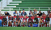 DUBAI, UNITED ARAB EMIRATES - Thursdays 30 November 2017, the South African bench during HSBC Emirates Airline Dubai Rugby Sevens match between South Africa and the USA at The Sevens Stadium in Dubai.<br /> Photo by Roger Sedres/ImageSA