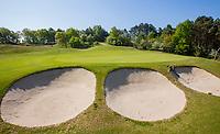 WASSENAAR / Den Haag - green hole 16. Koninklijke Haagsche Golf Club    COPYRIGHT KOEN SUYK