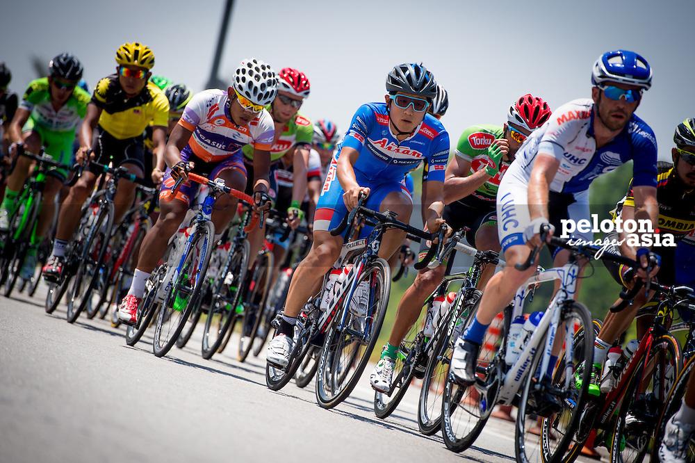 Le Tour de Langkawi 2015/ Stage7/ Shah Alam -Fraser's Hill/ Aisan / Nakajima Yasuharu