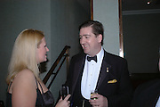 LOUISE NOBLE AND COUNT NICHOLAS REUTTNER. White Knights Ball, Grosvenor House. Park Lane. London. 6  January 2006. ONE TIME USE ONLY - DO NOT ARCHIVE  © Copyright Photograph by Dafydd Jones 66 Stockwell Park Rd. London SW9 0DA Tel 020 7733 0108 www.dafjones.com