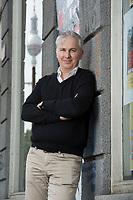 21 MAY 2012, BERLIN/GERMANY:<br /> Christophe F. Maire, Gruender / CEO txtr, Inhaber atlantic ventures, Investor und  Business Angel, Rosenthaler Str., Berlin-Mitte<br /> IMAGE: 20120521-02-071<br /> KEYWORDS: Christophe Maire