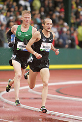 Olympic Trials Eugene 2012: men's 10,000 meter final, Ritzenhein leads Tegankamp, both make Olympic team