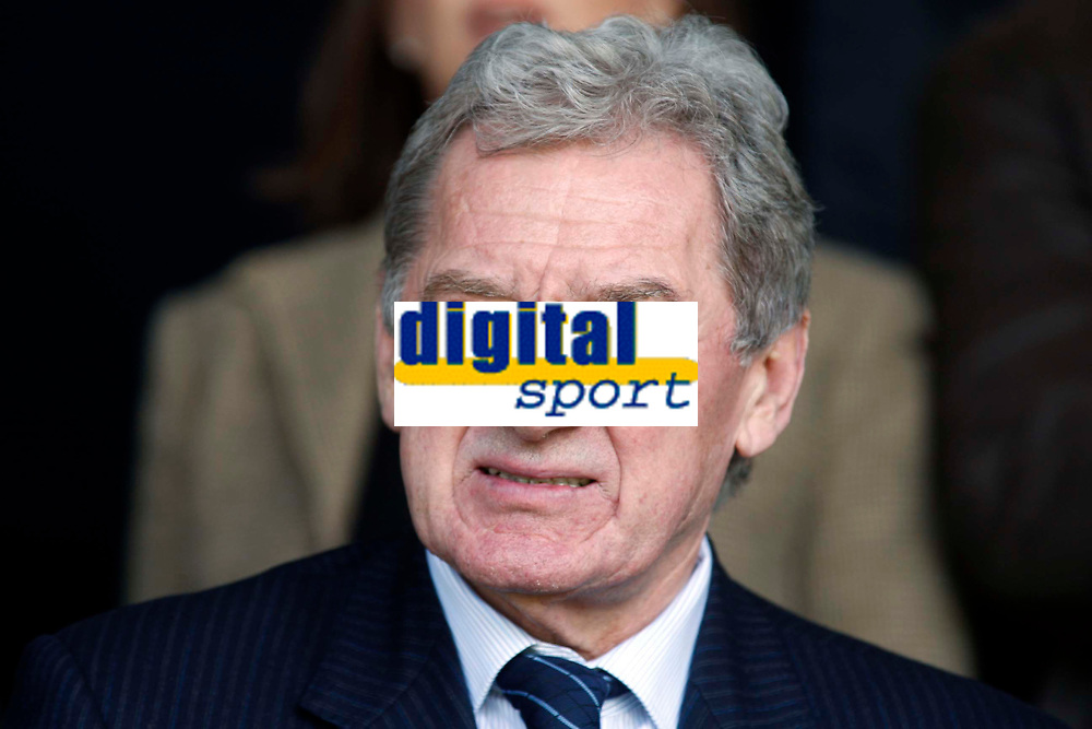 Coca-Cola League One - Southend United vs. Leicester City<br /> Leicester City chairman Milan Mandaric at Roots Hall.<br /> Credit: Colorsport/ Garry Bowden
