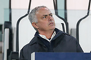 Manchester United Manager Jose Mourinho during the Champions League Group H match between Juventus FC and Manchester United at the Allianz Stadium, Turin, Italy on 7 November 2018.