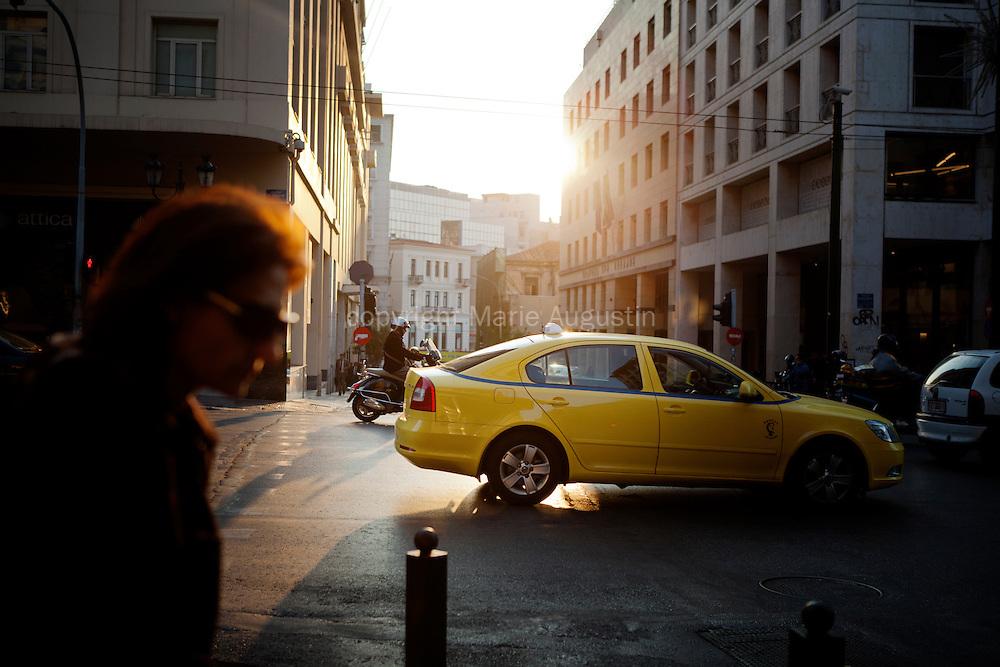 Avenue Venizelos - Athens, 2 nov 2011