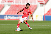 Swindon Town midfielder Danny Rose during the EFL Sky Bet League 2 match between Swindon Town and Macclesfield Town at the County Ground, Swindon, England on 14 September 2019.