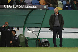 December 13, 2018 - Lisbon, Portugal - Marcel Keizer of Sporting during UEFA Europa League football match between Sporting CP vs Vorskla, in Lisbon, on December 13, 2018. (Credit Image: © Carlos Palma/NurPhoto via ZUMA Press)