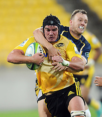 Wellington-Super Rugby, Hurricanes v Brumbies, March 7