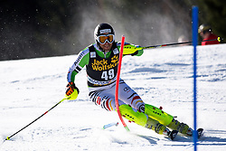 SCHMID Philipp of Germany during the 1st Run of Men's Slalom - Pokal Vitranc 2014 of FIS Alpine Ski World Cup 2013/2014, on March 9, 2014 in Vitranc, Kranjska Gora, Slovenia. Photo by Matic Klansek Velej / Sportida