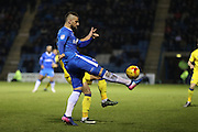 Gillingham FC midfielder Max Ehmer (5) during the EFL Sky Bet League 1 match between Gillingham and AFC Wimbledon at the MEMS Priestfield Stadium, Gillingham, England on 21 February 2017.