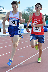 06/08/2017; Nuttall, Luke, T46, GBR, Orrego Campos, Mauricio Esteban, CHI at 2017 World Para Athletics Junior Championships, Nottwil, Switzerland