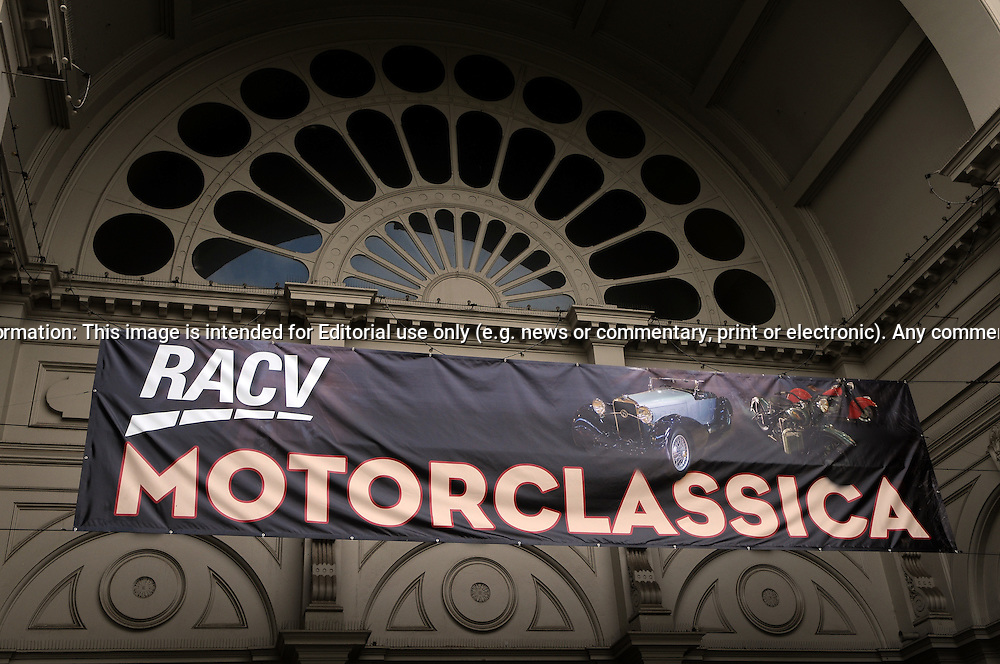 RACV Motorclassica.The Australian International Concours d'Elegance & Classic Motor Show.Royal Exhibition Building .Carlton, Melbourne, Victoria.October 22nd 2011.(C) Joel Strickland Photographics.Use information: This image is intended for Editorial use only (e.g. news or commentary, print or electronic). Any commercial or promotional use requires additional clearance.