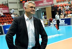 10-08-2014 NED: FIVB Grand Prix Belgie - Puerto Rico, Doetinchem<br /> Headcoach Gert Vande Broek