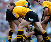 20040904 London Wasps v Saracens. Zurich Premiership..Wasps scrum half Matt Dawson.Photo  Peter Spurrier.email images@intersport-images Mob +447973819551.
