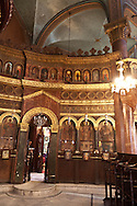 Egypt. Cairo - Mar GUIRGUIS greek orthodox  church of saint Georges in the old Cairo coptic area  +