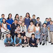 Macia Chervunkong, Family Portraits, 081317, Studio