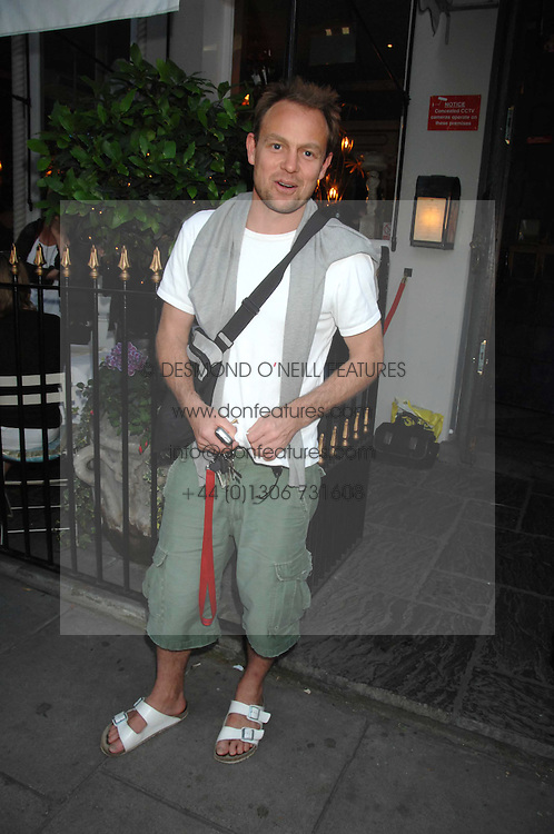 JASON DONOVAN at at the launch party for Imogen Edwards-Jones's new book Beach Babylon held at Beach Blanket Babylon, Ledbury Road, London on 18th July 2007.<br /><br />NON EXCLUSIVE - WORLD RIGHTS