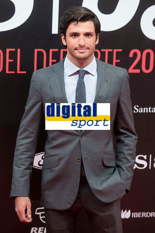 Carlos Sainz attends to photocall of 50th anniversary sport newspaper As in Madrid, Spain. December 04, 2017. (ALTERPHOTOS/Borja B.Hojas)