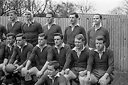 31/1/1962<br /> 1/31/1962<br /> 31 January 1962<br /> International Rugby Trials Blues v Whites. W.J. McBride, (Ballymena); B. O'Halloran, (UCD); N. Turley, (Blackrock); J. Dillon (Blackrock); Seated; M. O'Callaghan, (Sundays Well); N.A.A. Murphy, (Cork Constitutions);  N.F. Byrne (UCD); ====J.S. Dick (Queens); F.G. Gilpin (Queens); Front: J.Kelly, (UCD);