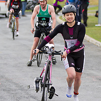 Action from the National Duathlon Championship in Lees Road, Ennis