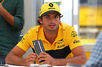 Carlos Sainz Renault<br /> Monza 30-08-2018 GP Italia <br /> Formula 1 Championship 2018 <br /> Foto Federico Basile / Insidefoto
