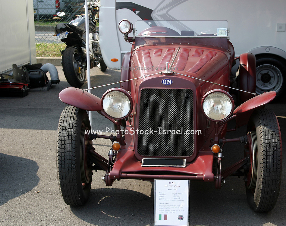 1930 OM (Officine Meccaniche) Tipo 665 S Corsa