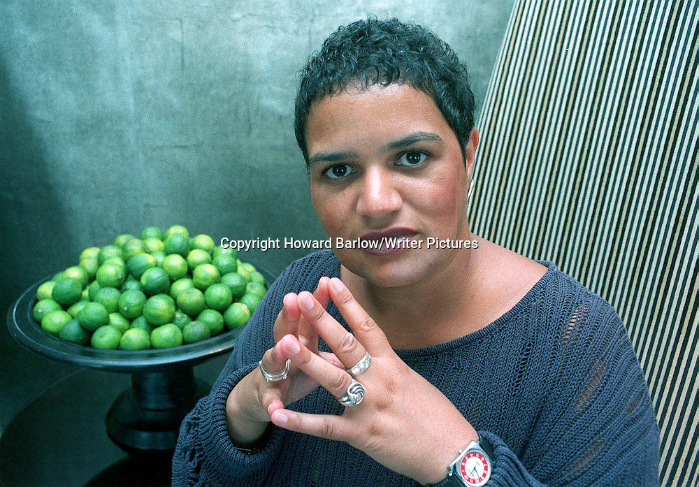 Jackie Kay, author, poet. Photographed on 1st December 1998.<br /> <br /> copyright: Howard Barlow/Writer Pictures<br /> <br /> WORLD RIGHTS