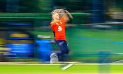 October 5, 2018 - Colombo, Sri Lanka - England cricketer Ben Stokes delivers a ball during a practice match between England and Sri Lanka Board XI at P Sara Oval cricket ground, Colombo, Sri Lanka...10-05-2018  (Credit Image: © Tharaka Basnayaka/NurPhoto/ZUMA Press)