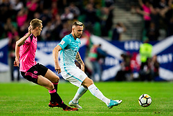 Jasmin Kurtic of Slovenia during football match between National Teams of Slovenia and Scotland of Fifa 2018 World Cup European qualifiers, on October 8, 2017 in SRC Stozice, Ljubljana, Slovenia. Photo by Vid Ponikvar / Sportida