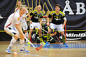 SSL Floorball match: AIK Stockholm vs. Granlo BK, 2012-09-23
