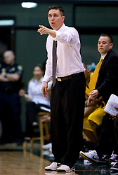 January 30, 2010; San Francisco, CA, USA;  San Francisco Dons head coach Rex Walters during the second half against the Gonzaga Bulldogs at the War Memorial Gym.  San Francisco defeated Gonzaga 81-77 in overtime.