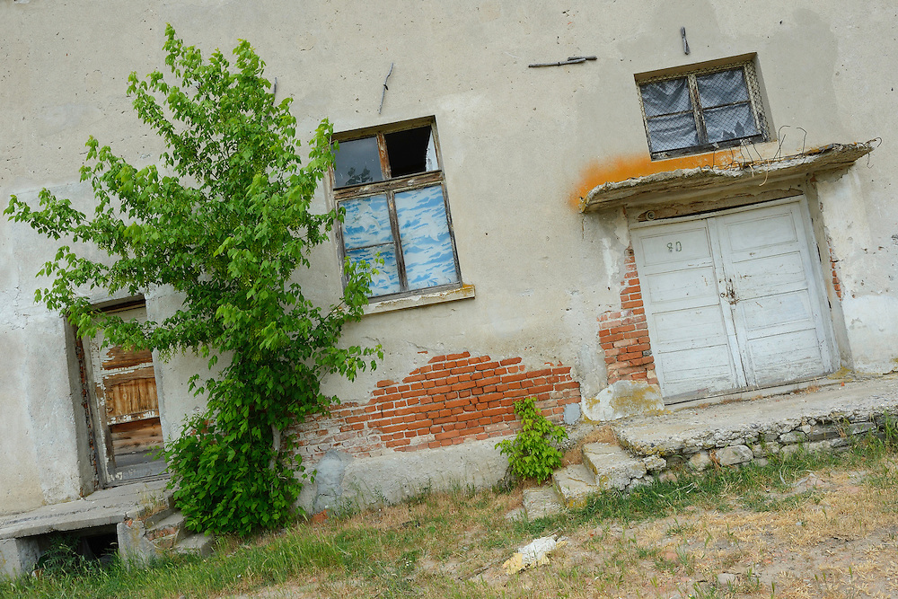 Abandoned farmstead and state farm, Madzharovo, Eastern Rhodope mountains, Bulgaria