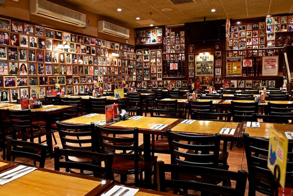 Carnegie Deli's Back Dining Room