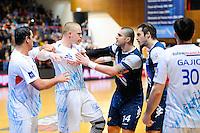 Altercation  - 08.04.2015 - Creteil / Montpellier - 20eme journee Division 1<br /> Photo : Anthony Dibon / Icon Sport