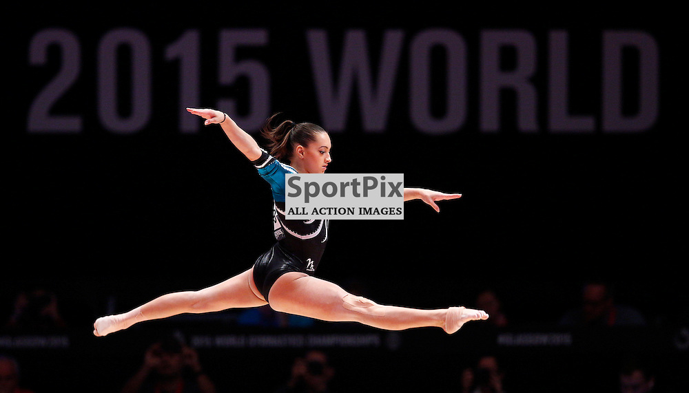 2015 Artistic Gymnastics World Championships being held in Glasgow from 23rd October to 1st November 2015.....Larisa Andreea Iordache (Romania) performs on the Balance Beam in the Women's All-Round Final...(c) STEPHEN LAWSON | SportPix.org.uk