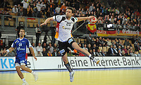 Handball EM Herren 2010 Hauptrunde Deutschland - Frankreich 24.01.2010 Christian Sprenger (GER)