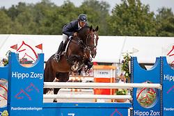 Heijligers Rob, (NED), Fire<br /> Isah Cup 5 Jarige springpaarden <br /> KWPN Kampioenschappen Ermelo 2015<br /> © Hippo Foto - Dirk Caremans