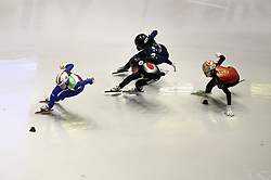 February 8, 2019 - Torino, Italia - Foto LaPresse/Nicolò Campo .8/02/2019 Torino (Italia) .Sport.ISU World Cup Short Track Torino - 500 meter Ladies Heats.Nella foto: Martina Valcepina guida il gruppo..Photo LaPresse/Nicolò Campo .February 8, 2019 Turin (Italy) .Sport.ISU World Cup Short Track Turin - 500 meter Ladies Heats.In the picture: Martina Valcepina leads the pack (Credit Image: © Nicolò Campo/Lapresse via ZUMA Press)