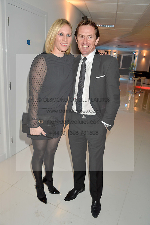 ZARA TINDALL and AP McCOYat the London premier of Being AP held at Altitude 360, Millbank Tower, 30 Millbank, London on 23rd November 2015.