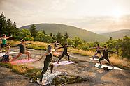 Sunrise Yoga Piper Mt.  6Aug16
