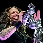 Korn performing at Mayhem Fest 2014