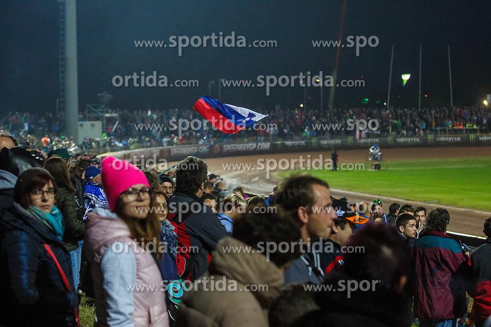 Spectators during FIM Speedway Grand Prix World Cup, Krsko, on 30. April, 2016, in Sports park Krsko, Slovenia. Photo by Grega Valancic / Sportida
