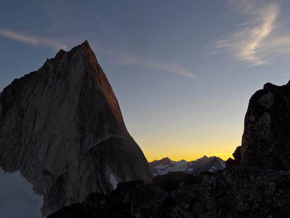 Alpine Sunset - Bugaboo Spire - Bugaboo Provincial Park