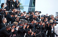 Photographers at the gala screening for the film The Little Prince – Le Petit Prince at the 68th Cannes Film Festival, Friday 22nd May 2015, Cannes, France.
