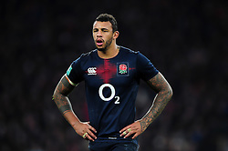 Courtney Lawes of England - Mandatory byline: Patrick Khachfe/JMP - 07966 386802 - 26/11/2016 - RUGBY UNION - Twickenham Stadium - London, England - England v Argentina - Old Mutual Wealth Series.