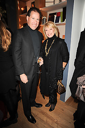 VISCOUNT LINLEY and ELAINE PAIGE at a party to celebrate 25 years of the David Linley store , 60 Pimlico Road, London on 16th November 2010.