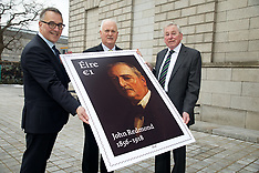 A new €1 stamp marking the centenary of the death of John Redmond 06.03.2018